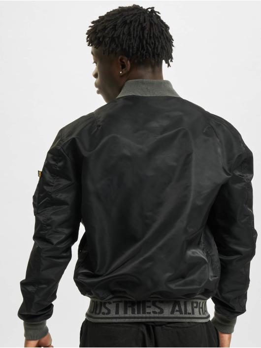 Alpha Industries Bomber jacket Ma-1 LW AR black