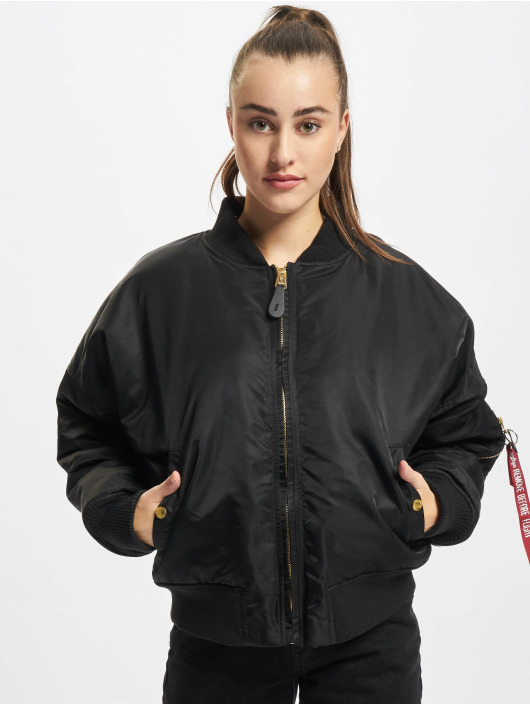 Alpha Industries Bomber jacket MA-1 OS WMN Reversible black