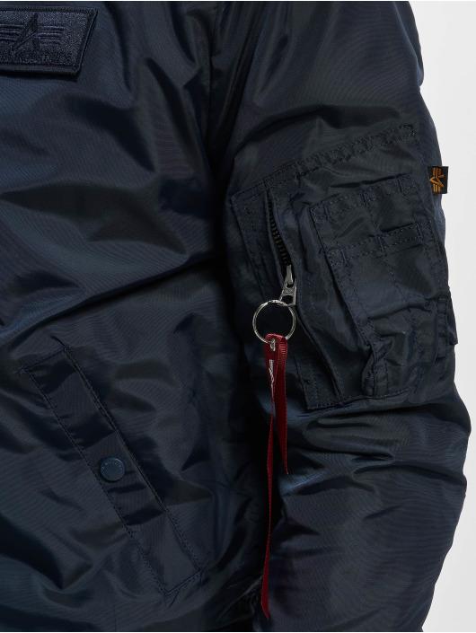 Alpha Industries Bomber jacket Ma-1 TT Hood blue