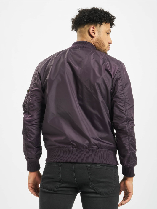 Alpha Industries Bomber jacket Ma-1 Tt purple