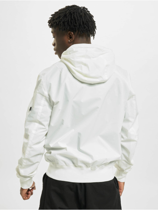Alpha Industries Bomber jacket Ma-1 LW HD Kryptonite white
