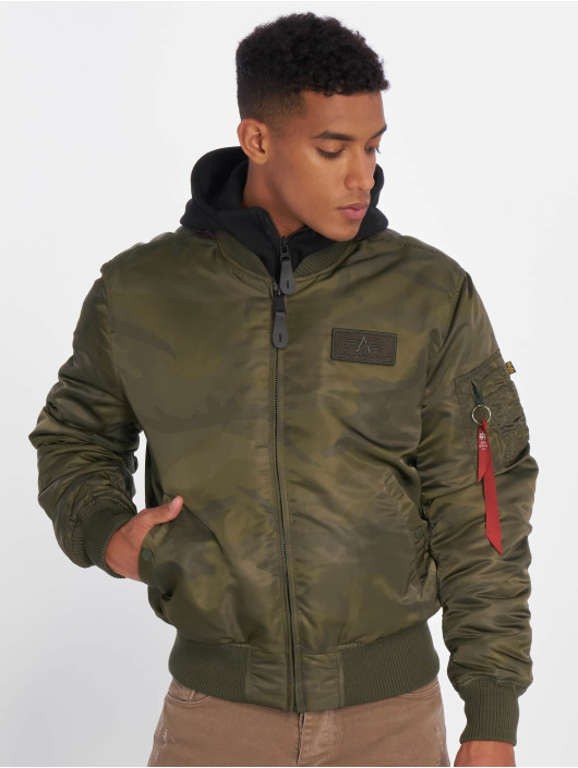Alpha Industries Bomberjack MA-1 D-Tec camouflage