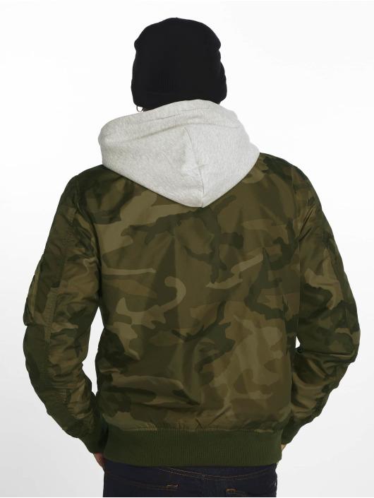 Alpha Industries Bomberjack Ma-1 TT Hood camouflage
