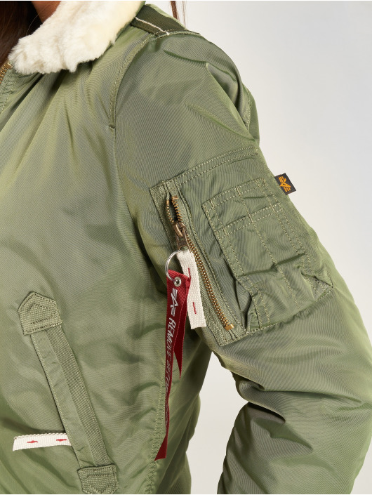 Alpha Industries Bomberjack Injector III groen
