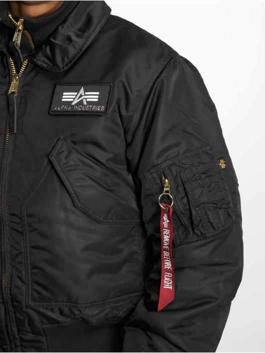5247562312f Alpha Industries jas   Bomberjack X-Force Bomber in zwart 39152
