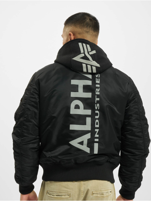 Alpha Industries Bomberjacka Ma-1 Zh Back svart
