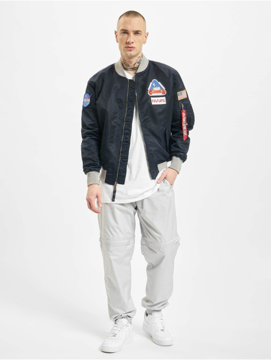 Alpha Industries Bomberjacke Ma-1 Lw Mission To Mars blau