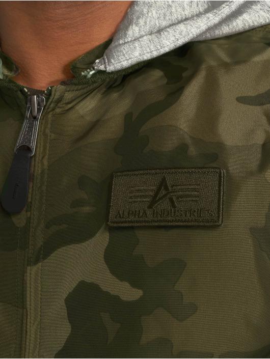 Alpha Industries Bomberjacke Ma-1 TT Hood camouflage