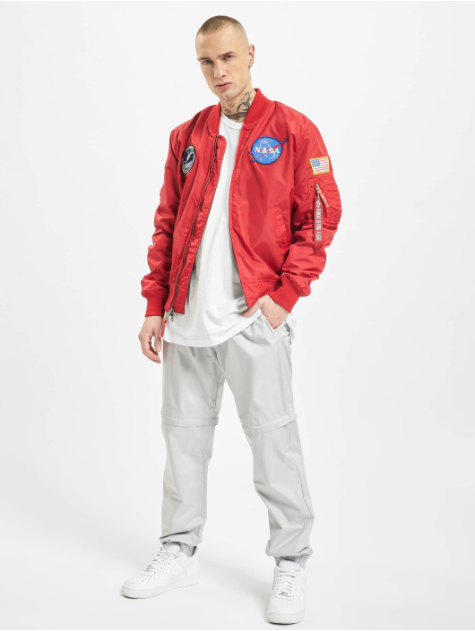 Alpha Industries Bomberjacke Ma-1 Tt Nasa Reversible Ii rot
