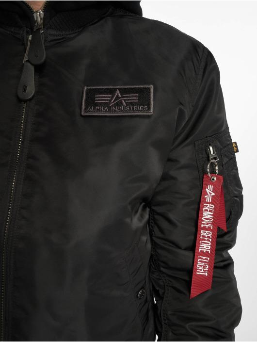 Alpha Industries Bomberjacke MA-1 D-tec Bomber Jacket schwarz