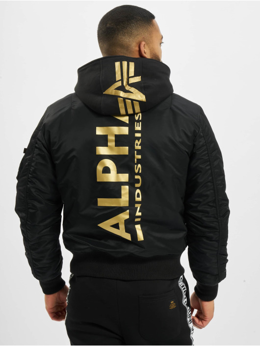 Alpha Industries Bomberová bunda Ma-1 Zh Back Print èierna