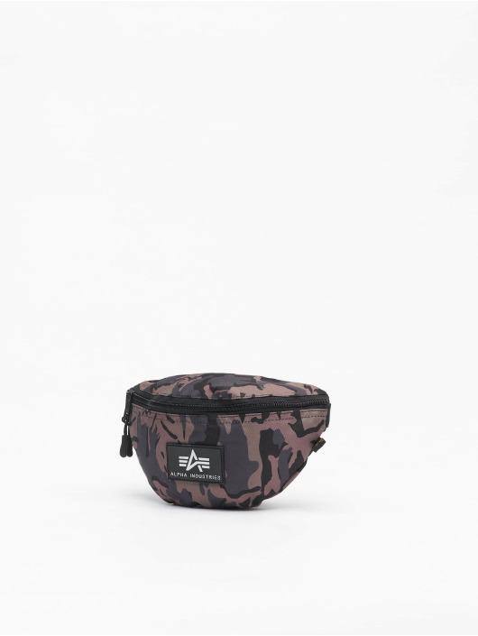 Alpha Industries Borsa Rubber Print nero