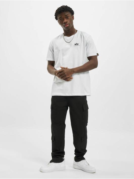 Alpha Industries Camiseta Backprint blanco