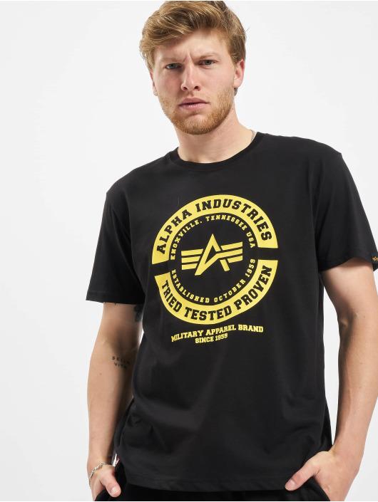 Alpha Industries Camiseta TTP T negro