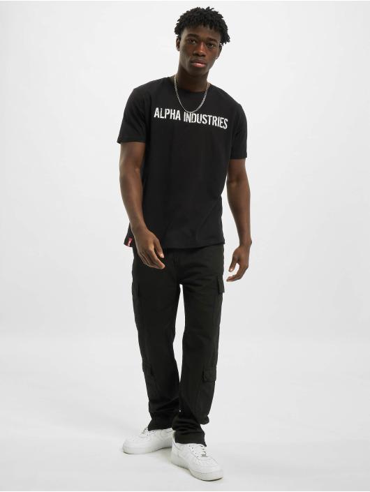 Alpha Industries Camiseta RBF Moto negro