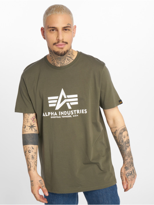 Alpha Industries Camiseta Basic oliva