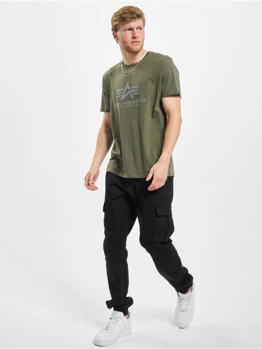 Alpha Industries Camiseta Basic Reflective oliva