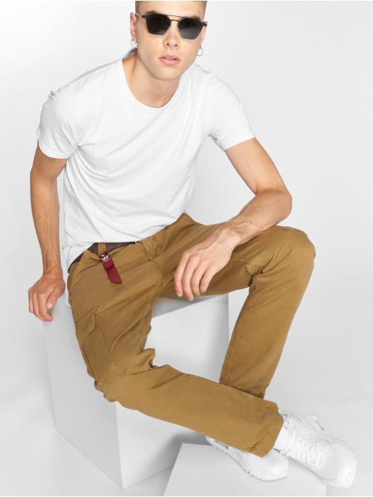 Alpha Industries Cargobroek Agent khaki