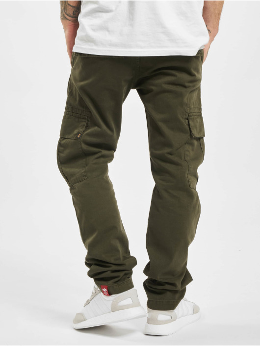 Alpha Industries Cargobroek Agent olijfgroen