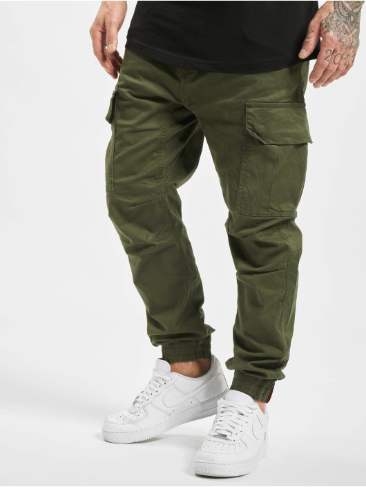 Alpha Industries Cargobroek Airman olijfgroen