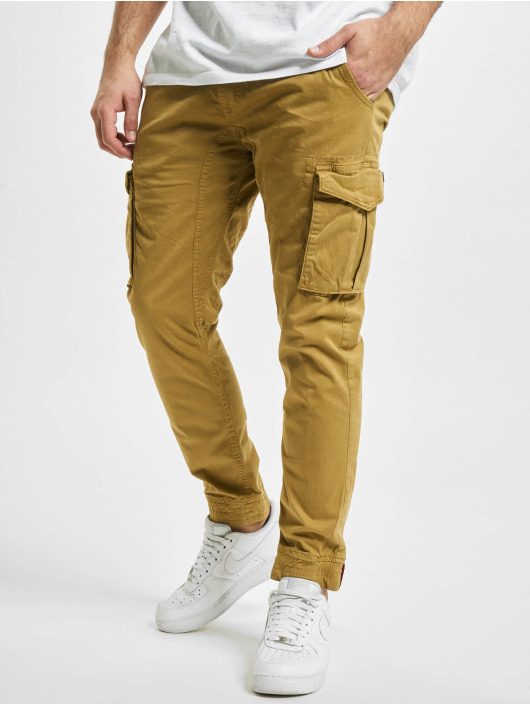 Alpha Industries Cargohose Cotton Twill khaki
