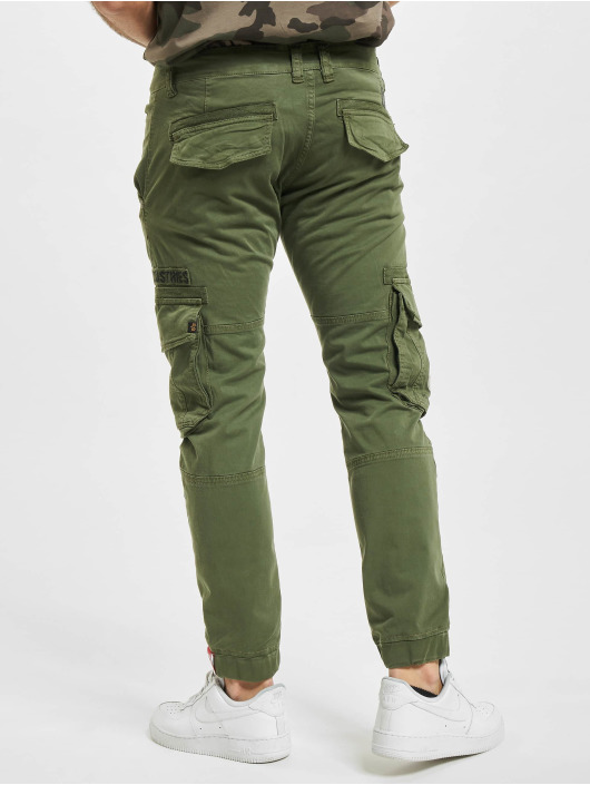 Alpha Industries Cargohose Rescue olive