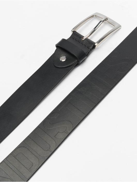 Alpha Industries Cintura Embossed nero