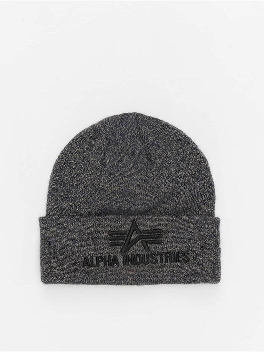 Alpha Industries Czapki 3D szary