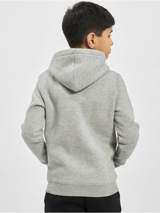 Alpha Industries Felpa con cappuccio Basic grigio