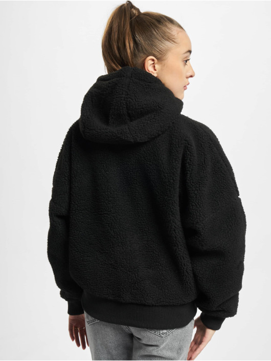 Alpha Industries Giacca invernale Ma-1 Os Hooded Teddy Wmn nero
