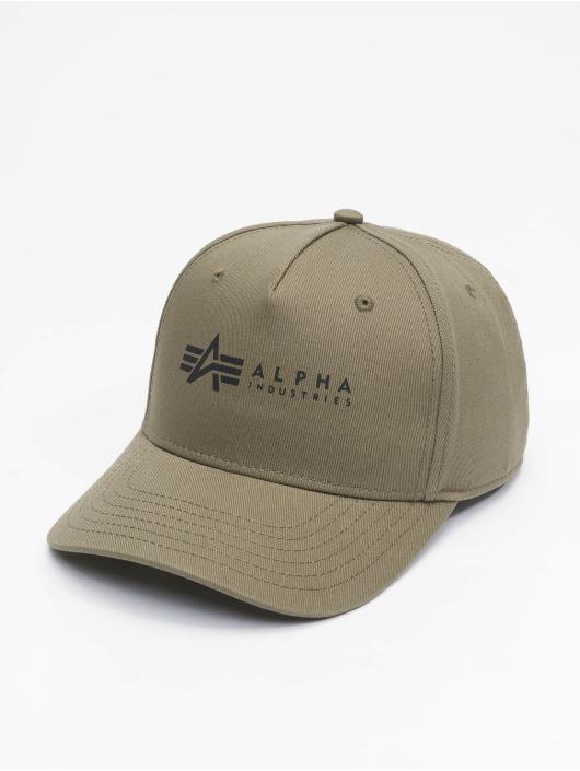 Alpha Industries Gorra Snapback Alpha verde