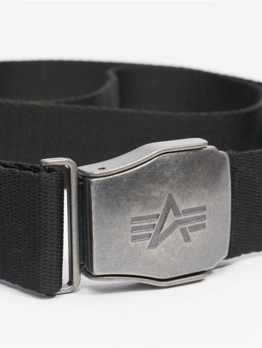 Alpha Industries Gürtel Buckle Belt schwarz