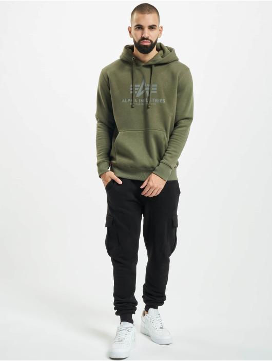 Alpha Industries Hettegensre Basic Reflective oliven