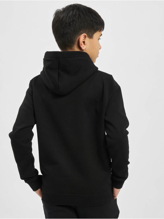 Alpha Industries Hoodies Basic čern