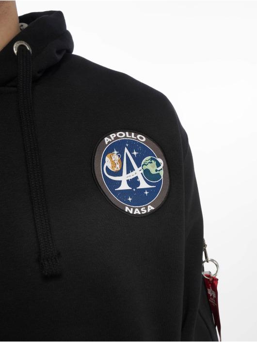 Alpha Industries Hoodies Moon Landing sort