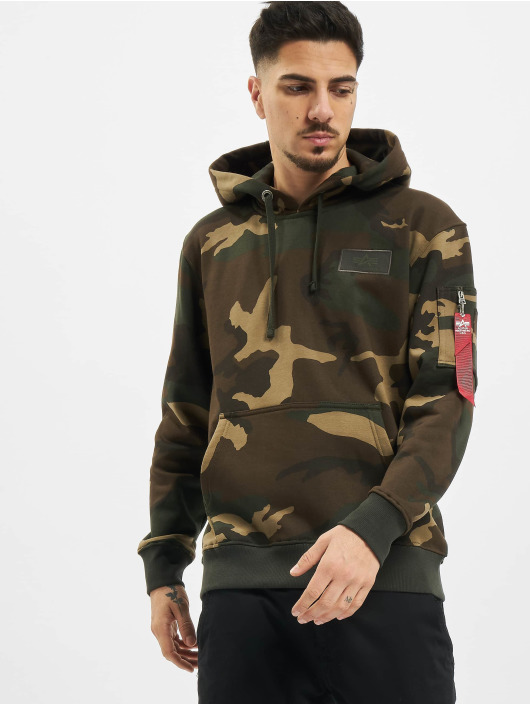 Alpha Industries Hoody Back Print Camo camouflage