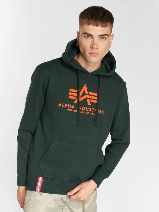 Alpha Industries Hoody Basic grün