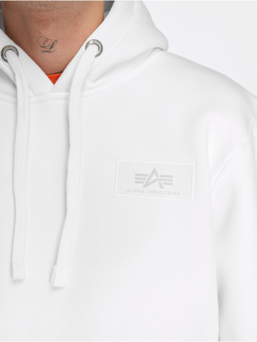 Alpha Industries Hoody Back Print weiß