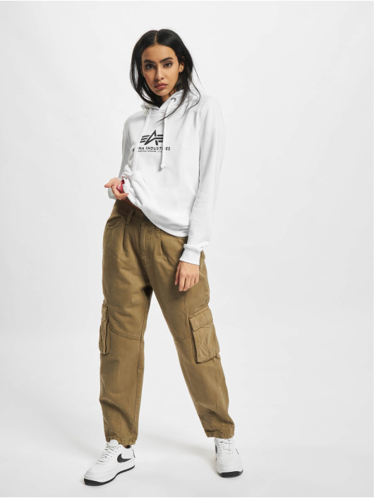 Alpha Industries Hoody New Basic wit