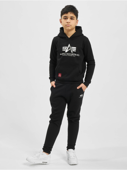 Alpha Industries Hoody Basic zwart
