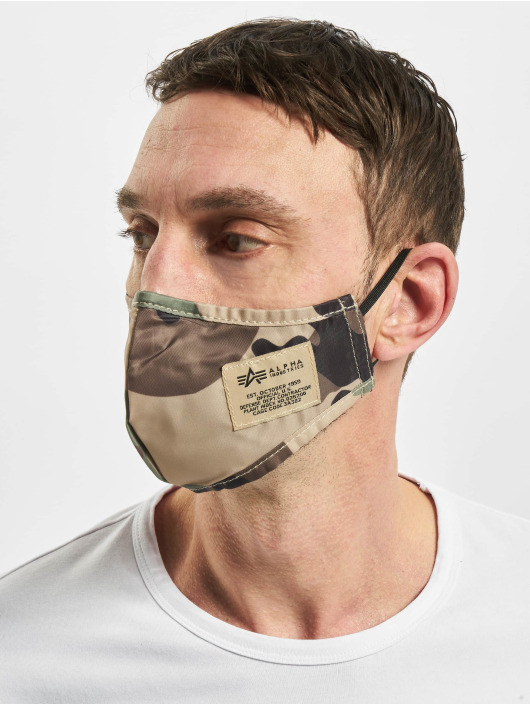 Alpha Industries Iné Tactical Face Mask maskáèová
