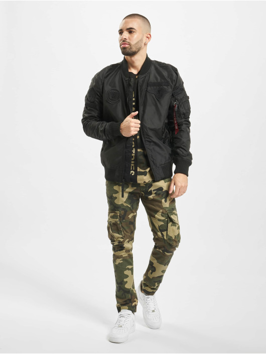 Alpha Industries Jogginghose Army camouflage