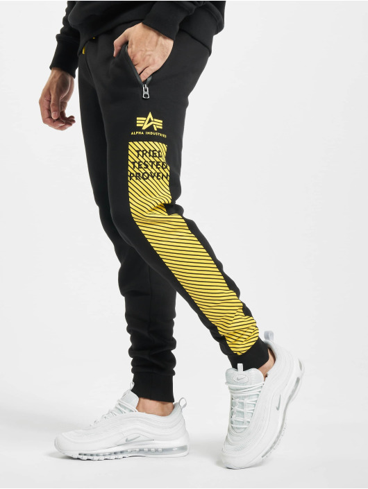 Alpha Industries Jogginghose Safety Line schwarz
