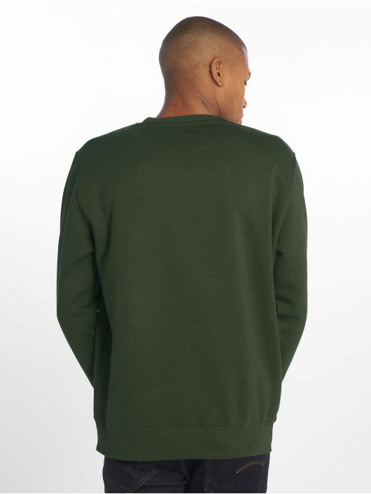 Alpha Industries Jumper Basic Small Logo green
