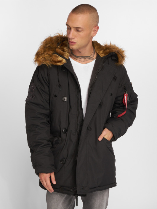 Alpha Industries Kåper Explorer svart