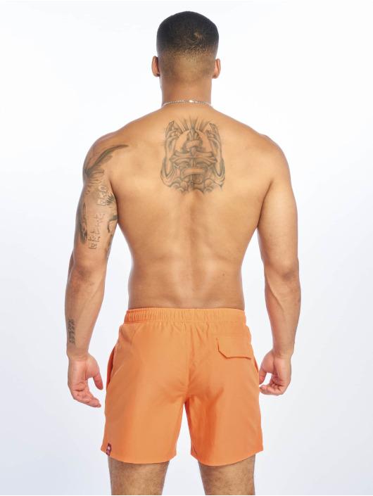 Alpha Industries Kúpacie šortky Basic oranžová