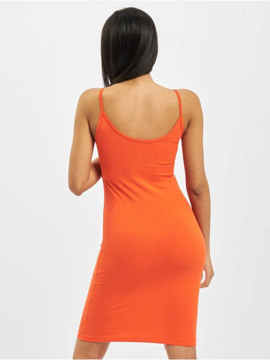 Alpha Industries Klær Basic Dress Small Logo Dress oransje
