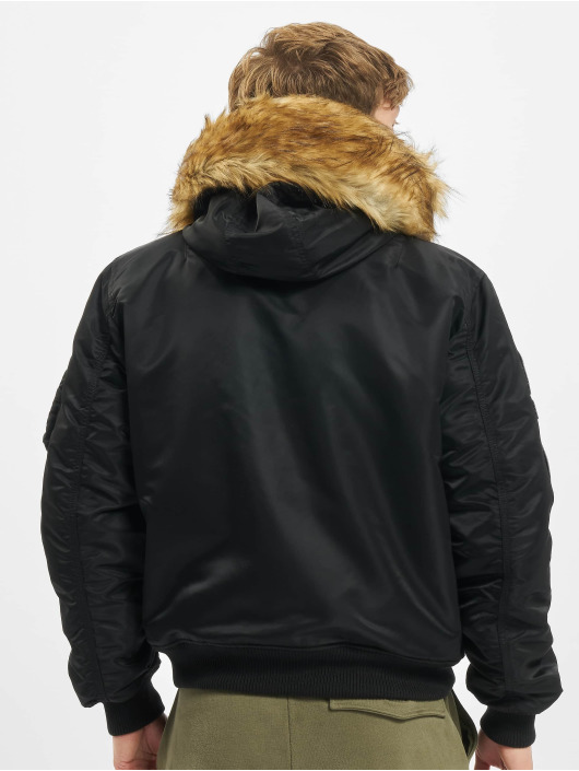 Alpha Industries Kurtka pilotka Ma-1 Hooded Arctic czarny