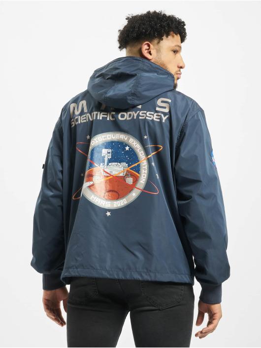 Alpha Industries Kurtki przejściowe Mars Mission niebieski
