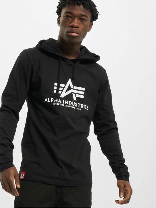 Alpha Industries Langermet Basic Hooded svart